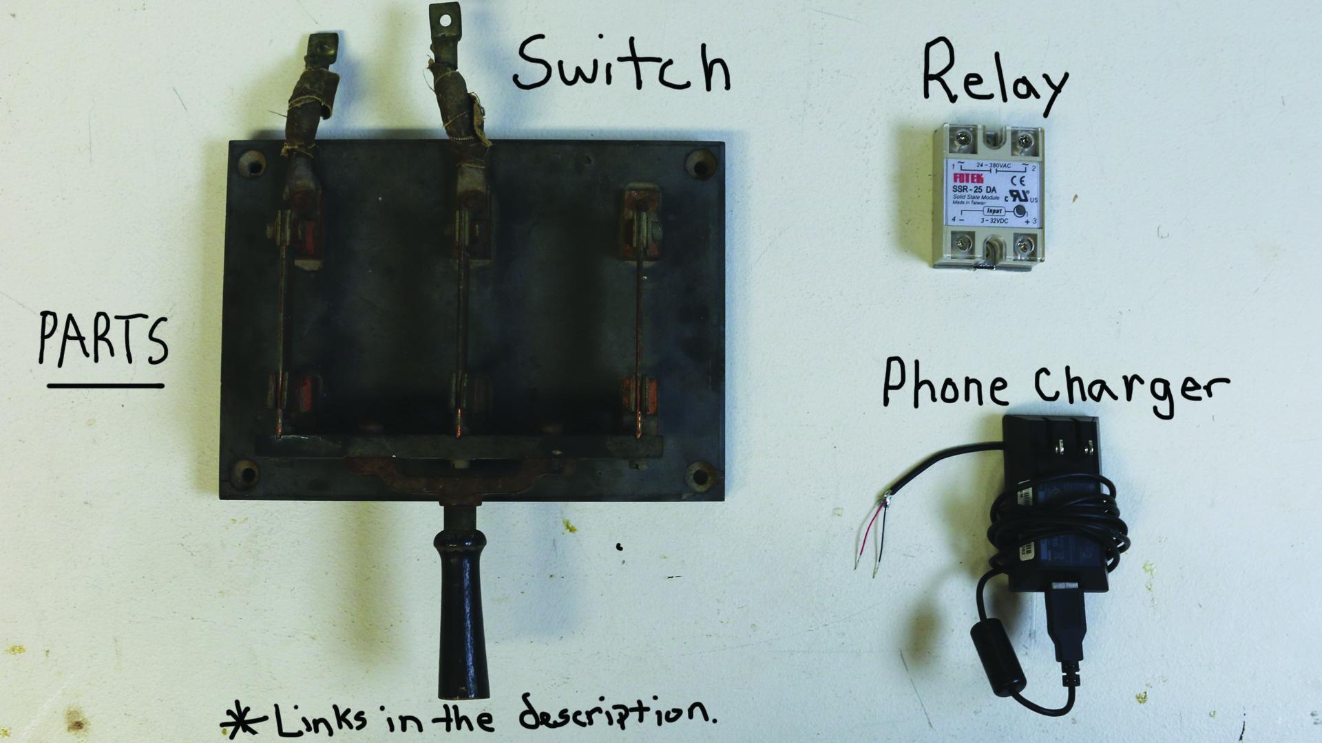 DIY Vintage Light Switch (Frankenstein Knife Switch) | Mike And Lauren